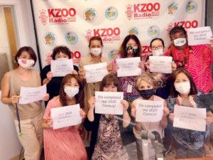 KZOOラジオ・Furuyaご夫妻とアナウンサーたち